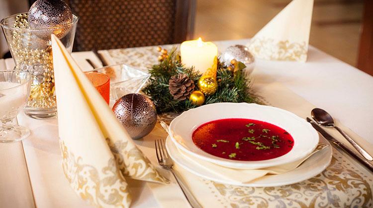 Zamów świąteczny Catering Hoteli Diament