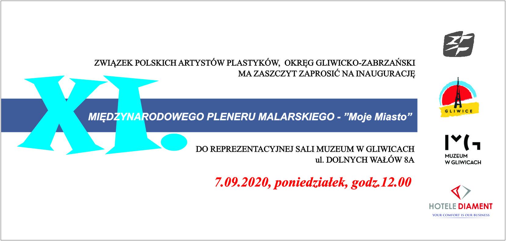 """XI Międzynarodowy Plener Malarski """"Moje Miasto"""""""