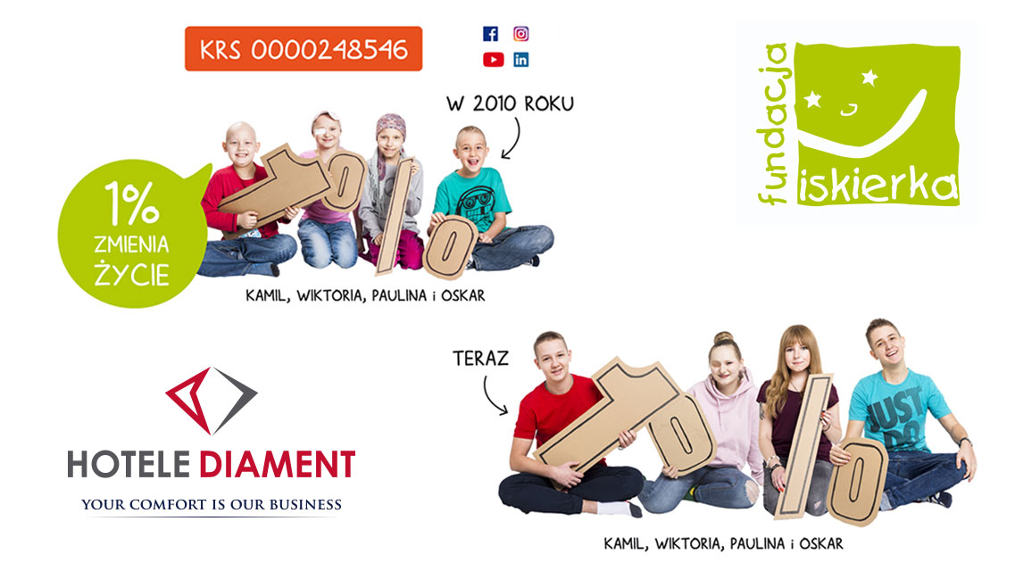 Fundacja Iskierka - Hotele Diament