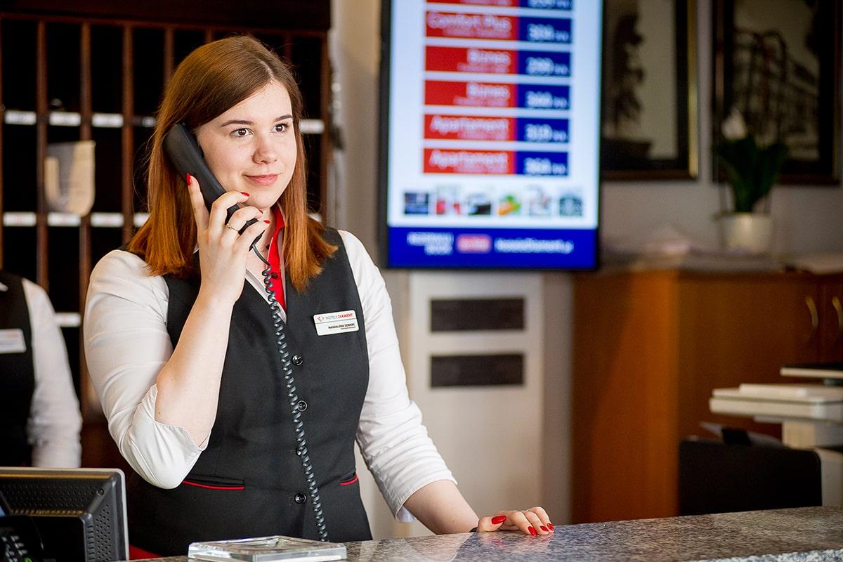 Hotel Diament Plaza Gliwice - Recepcja