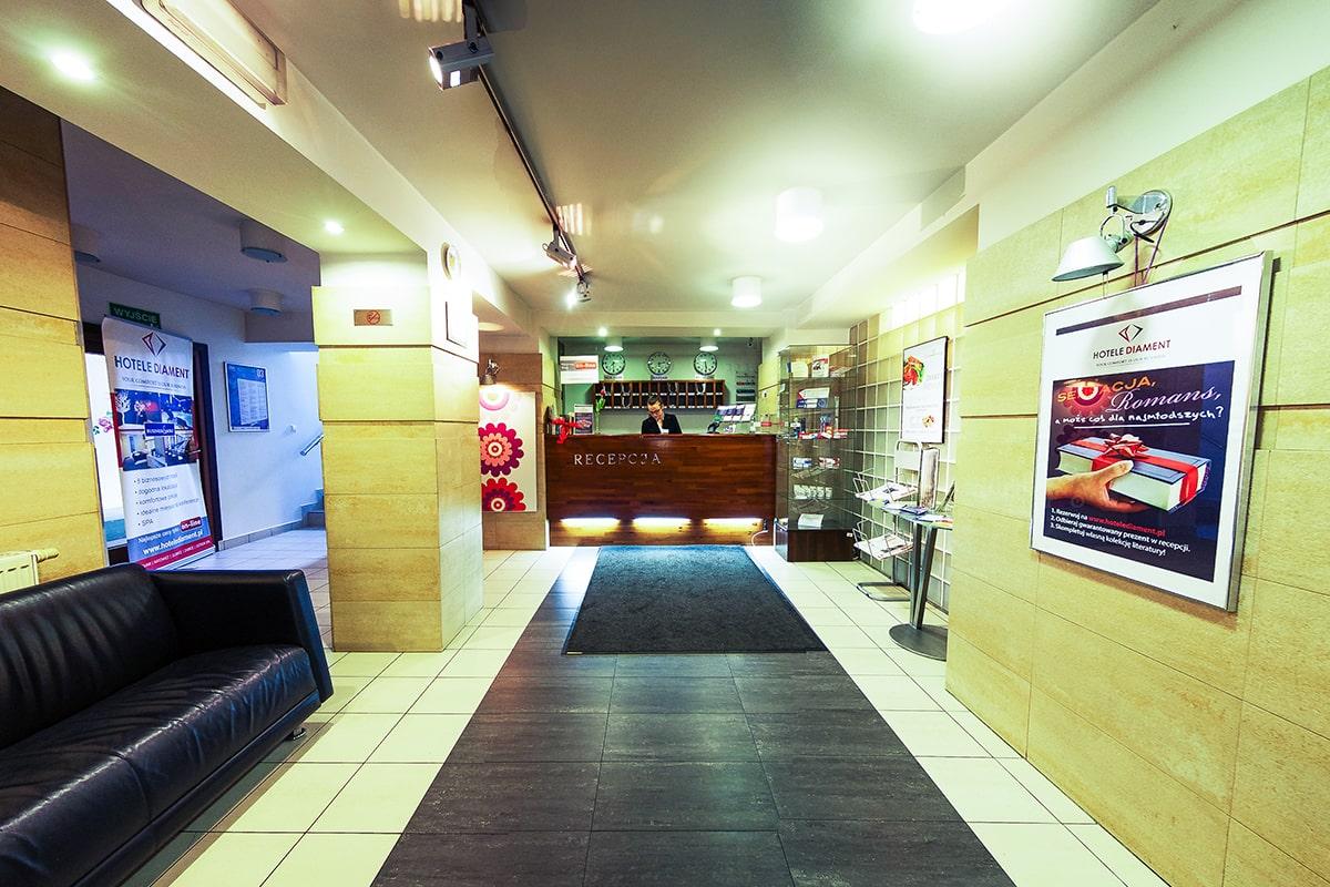 Hotel Diament Economy Gliwice - Recpecja