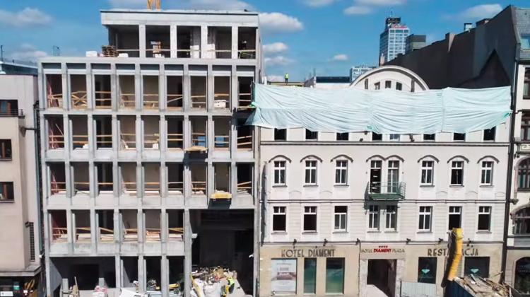 Relacja Z Budowy Hotelu Diament Plaza! Prosto Z Katowic!