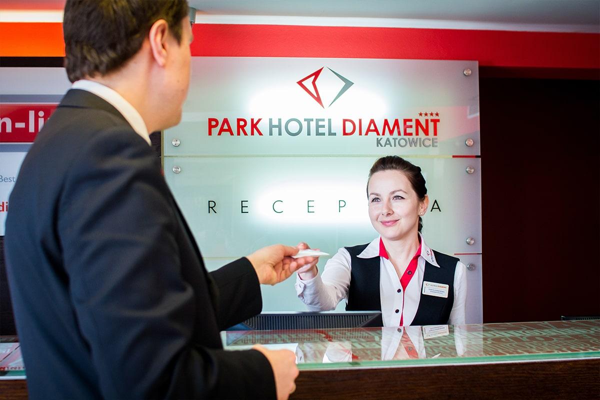Park Hotel Diament Katowice - Recepcja