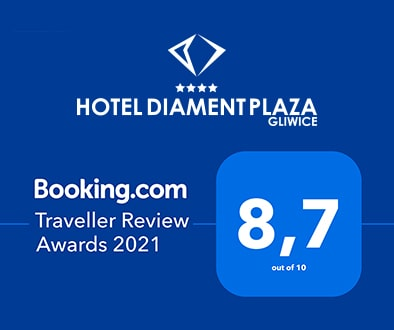 B.com Traveller Review Award 2021 Diament Plaza Gliwice
