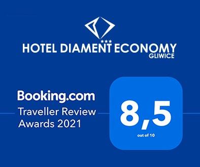 B.com Traveller Review Award 2021 Diament Economy Gliwice