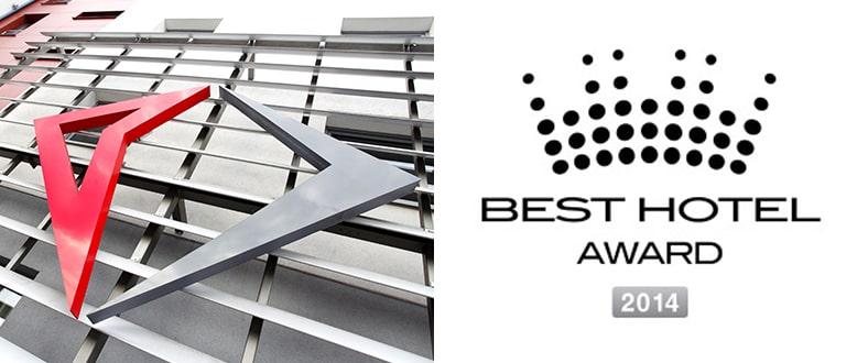 Best Hotel Award 2014 - Hotele Diament