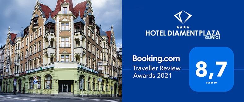 Traveller Review Award 2021 - Hotel Diament Plaza Gliwice