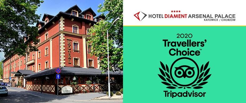 TripAdvisor Traveler's Choice 2020 - Hotel Diament Arsenal Palace