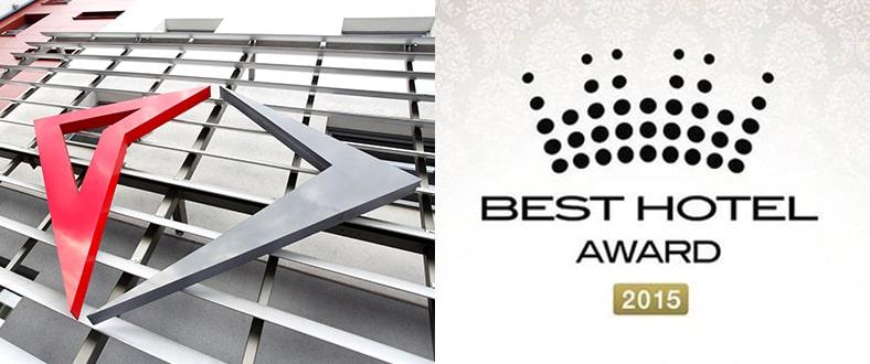 Best Hotel Award 2015 - Hotele Diament