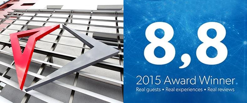 Nagrodą Doskonałości 2015 Hotele Diament