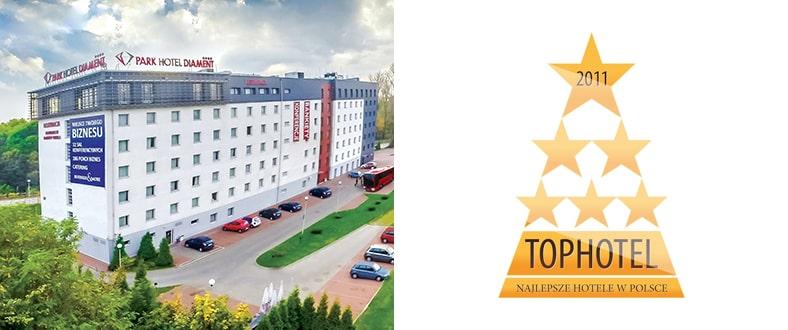 Top Hotel, Najlepsze Hotele w Polsce - Park Hotel Diament Katowice