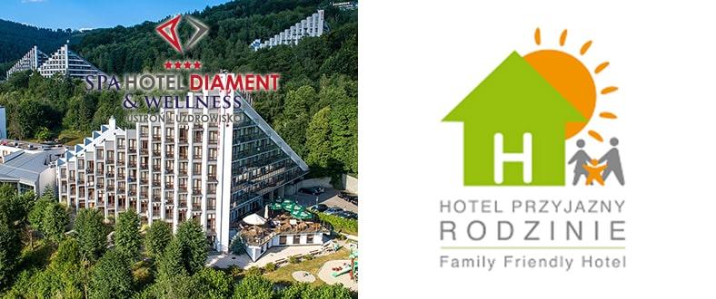 Hotel Przyjazny Rodzinie - Spa Hotel Diament & Wellness Ustroń