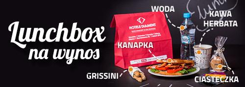 Lunchbox na wynos - Hotele Diament