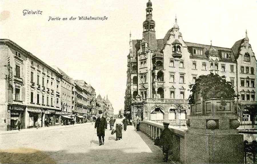 Hotel Diament Plaza Gliwice- 1915 rok