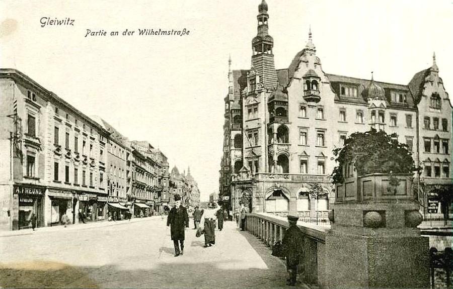 Hotel Diament Plaza Gliwice- 1915 rok
