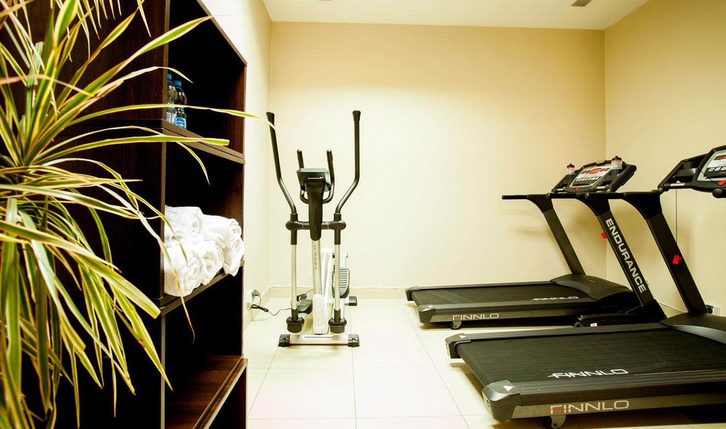 Hotel Diament Plaza Katowice Fitness Room