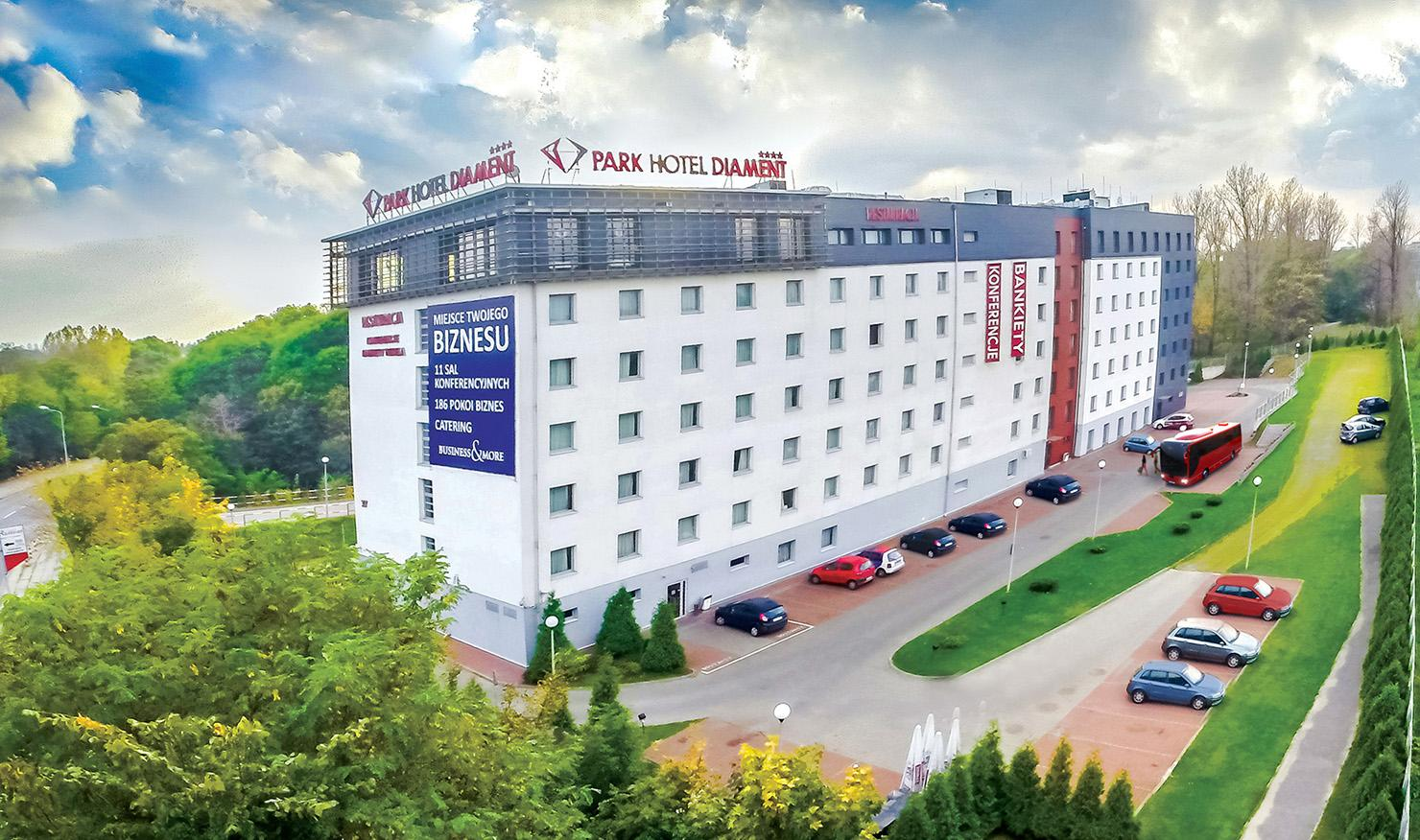 Park Hotel Diament Katowice • Hotele Diament
