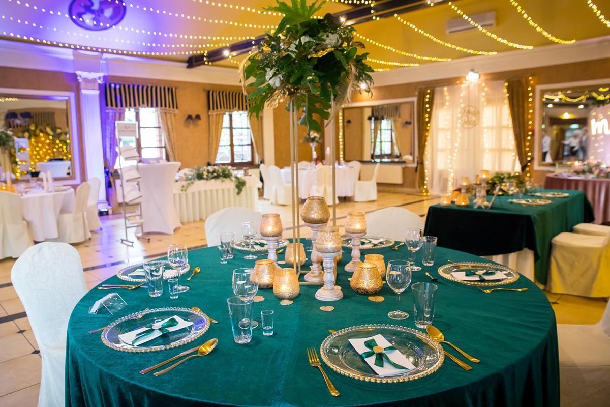 Sala podczas wesele w Hotelach Diament